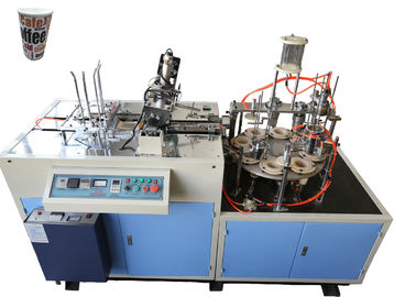 चीन High Output Automatic Paper Cup Sleeve Machine Customized 40 - 50 Pcs / Min Speed आपूर्तिकर्ता