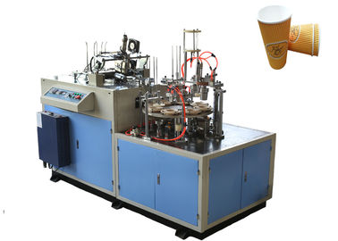 चीन High Power Ultrasonic Paper Cup Sleeve Machine , Paper Cup Jacketing Machine वितरक