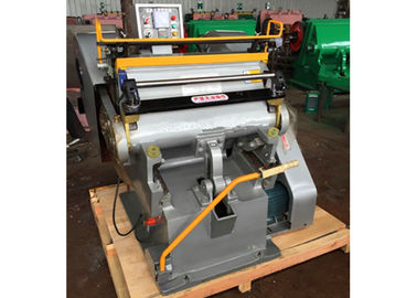 चीन Semi Automatic Paper Die Cutting Machine High Strength With Electrical System वितरक