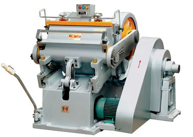 चीन High Performance Paper Die Cutting Machine For Creasing Corrugated Paper Box वितरक